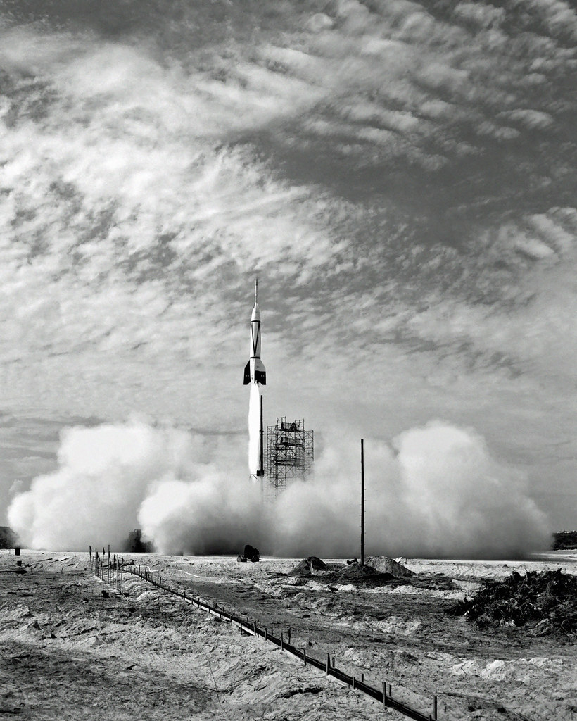 First V-2 / Bumper rocket: Launch from Cape Canaveral, Jul ...