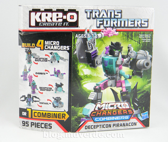 Transformers Piranacon Kre-O - caja