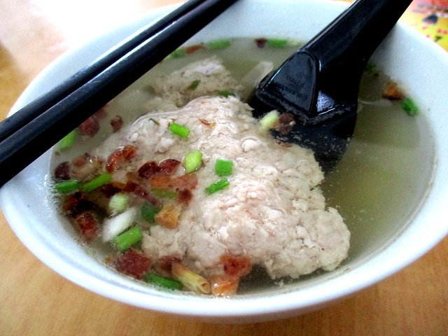 Yisen Cafe minced meat soup