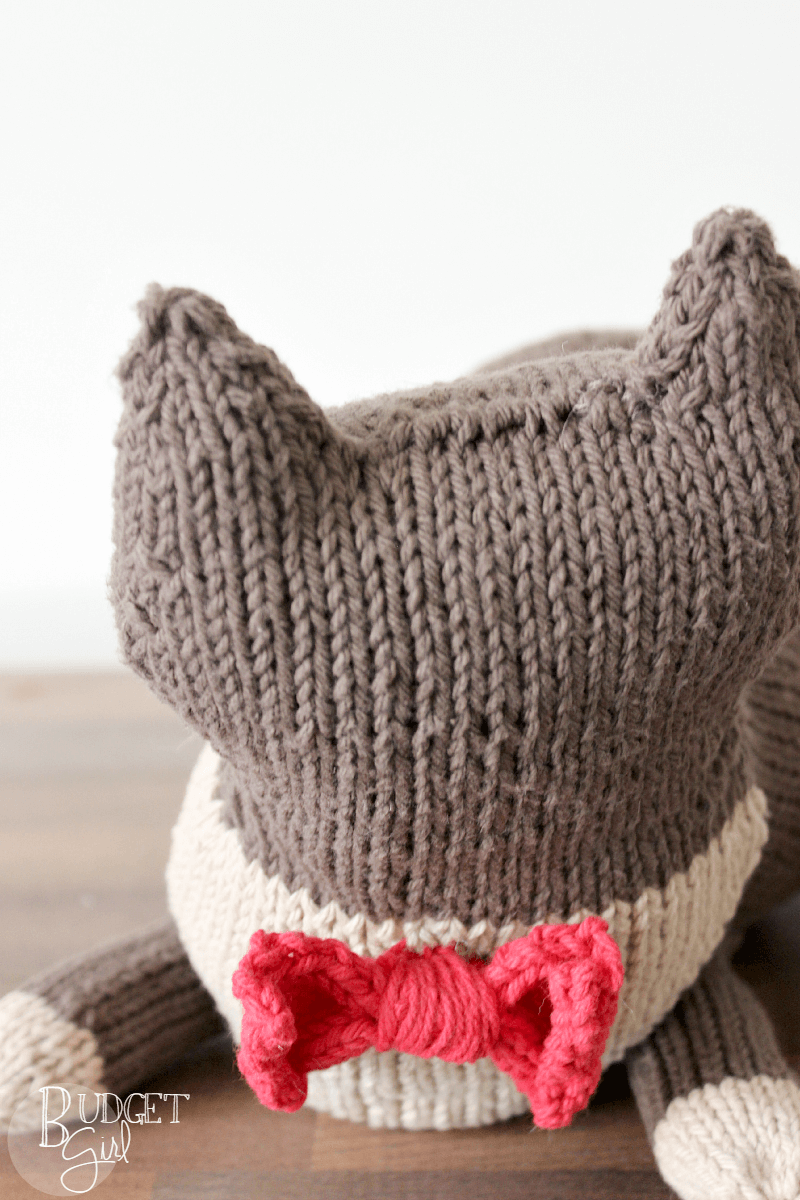Stuffed Cat Knitting Pattern - Tastefully Eclectic
