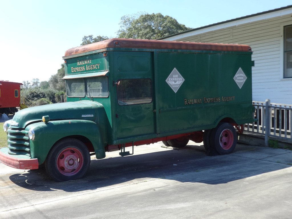 Chevrolet Of Helena >> Railway Express Agency truck at Helena Depot | MJRGoblin ...