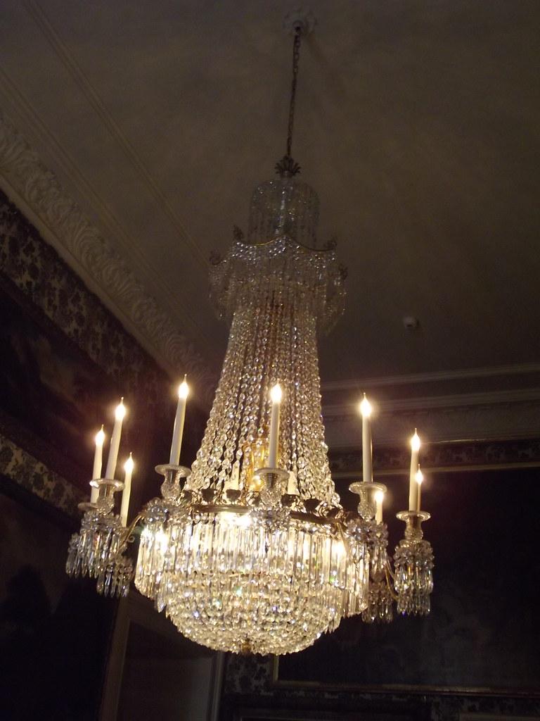 Inside Chatsworth House Guest Bedrooms Chandelier Flickr
