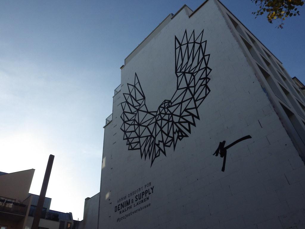 ralph lauren commercial mural 2014, berlin, mitte, germany ...