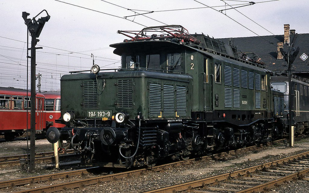 aschaffenburg depot originally drg class e94 built from
