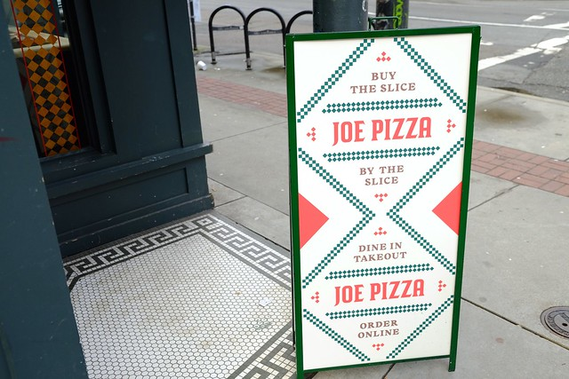 Joe Pizza | Gastown, Vancouver