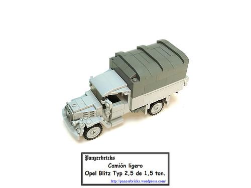 Camión Opel Blitz 1,5t Typ 2,5-35 de Panzerbricks