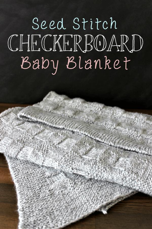 Checkerboard Baby Blanket - Tastefully Eclectic
