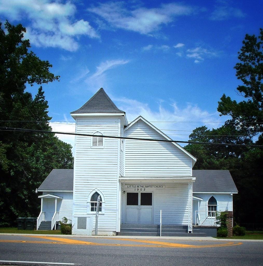 Daphne Alabama: Little Bethel Baptist Church And History, Daphne, Alabama