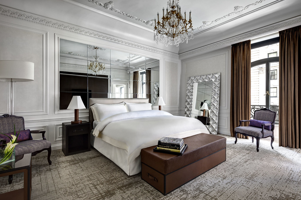 the st regis new york milano suite bedroom milano suite b