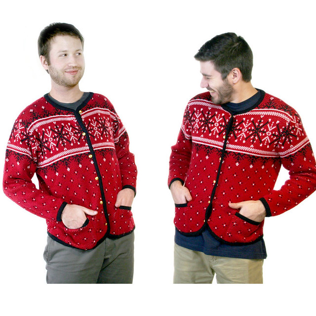 Twinsies! Matching Ski or Ugly Christmas Sweaters