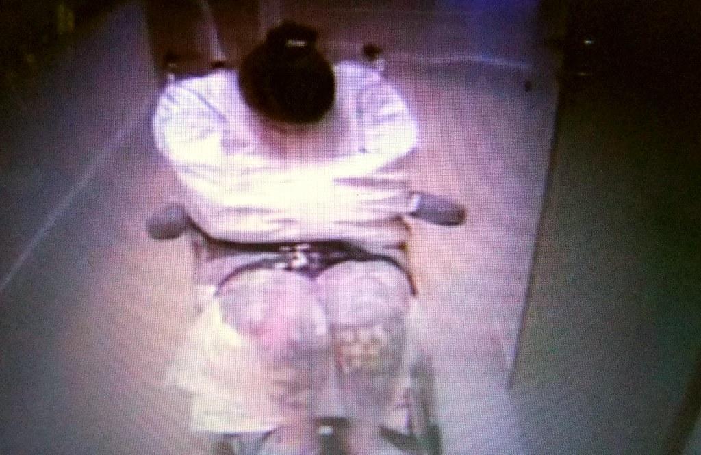 Woman In Psychiatry In Straitjacket Restraint,Frau In Eine