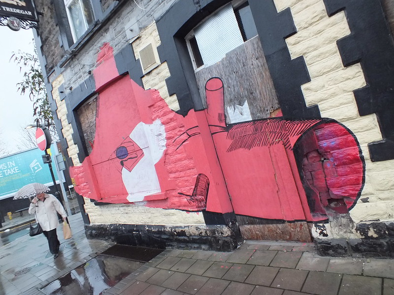Splott street art and graffiti