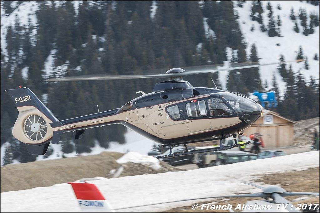 Eurocopter EC-130 T2 - F-GJSR , SAF Hélicoptères - Service Aérien , Fly Courchevel 2017 , Hélico 2017