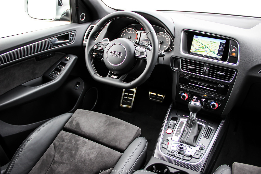 2015 Audi SQ5 Interior! | Photo taken at the Vin Devers ...
