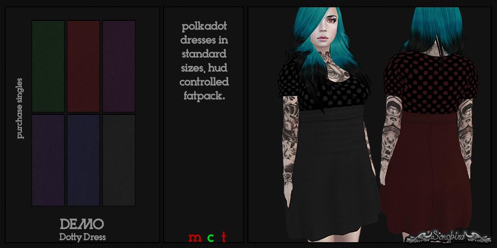 ~SongBird~ Dotty Dress