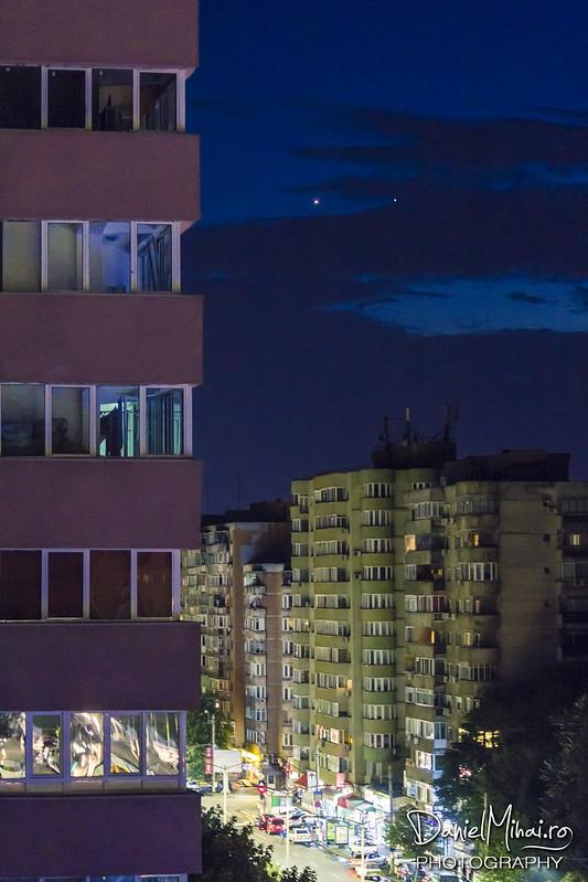 Venus & Jupiter by Daniel Mihai