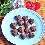 Easy homemade chocolate recipe - How to make chocolate at home with cocoa powder