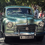 XI Concentración Nacional de automóviles clásicos y antiguos IX.  Seat 1400 A.