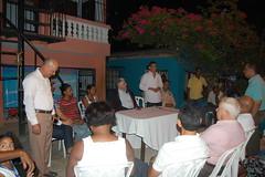 Eduardo Estrella y PartidoDxC celebran encuentro con dirigentes y simpatizantes en el Callejón Tapia, Sto. Dgo. Este