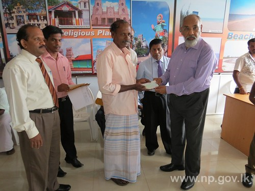Housing assistance granted to the poverty line people in the Northern Province – 29 October 2014