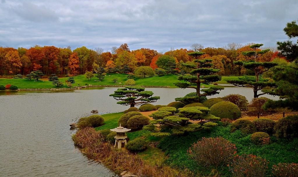 Japanese Garden Explore 238 39 14 Chicago Botanic Garden Flickr