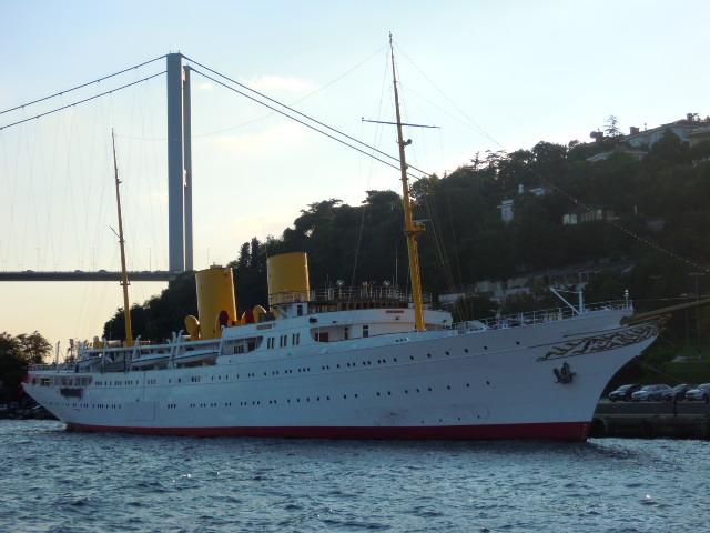歐洲現存最老的船舶飯店「Savarona」號