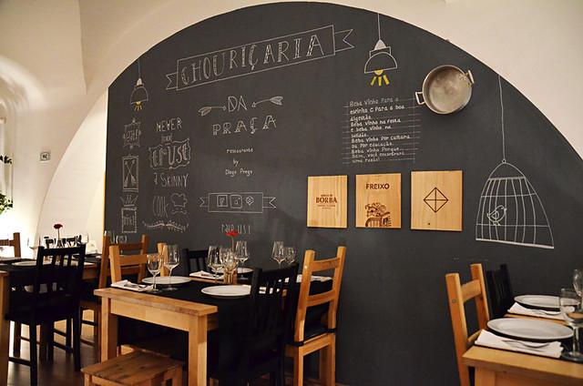 Restaurant Chouricia, Evora, Portugal