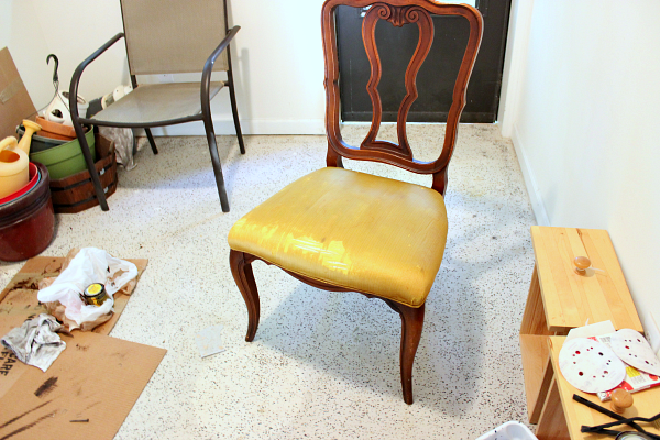 Diy Reupholster Dining Room Chair