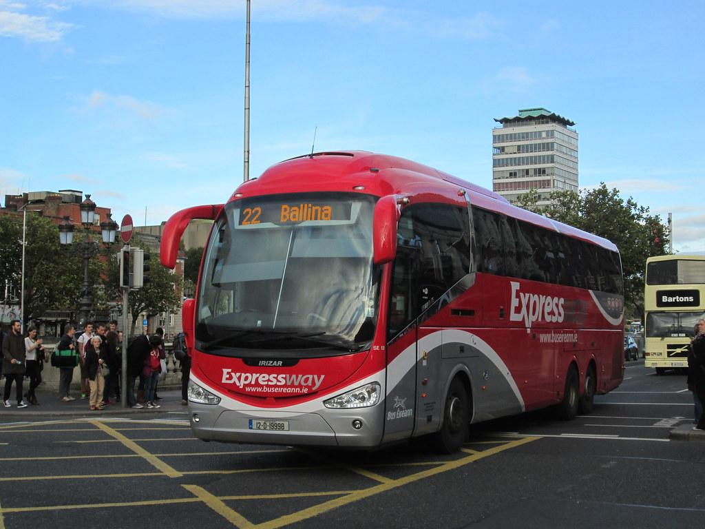 Bus Eireann Se13 Route 22 To Ballina Vc105 Flickr