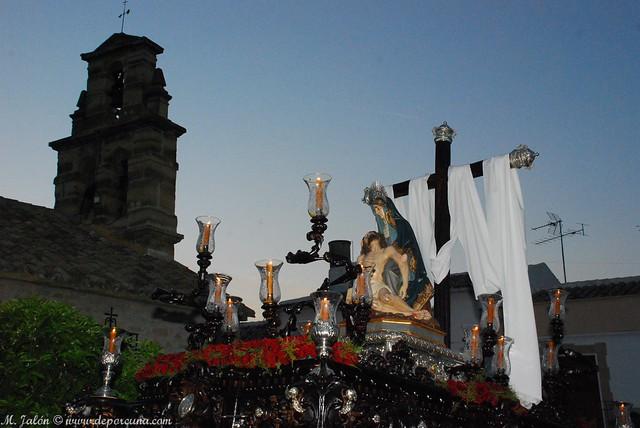 Virgen de las Angustias. Foto MJJ.