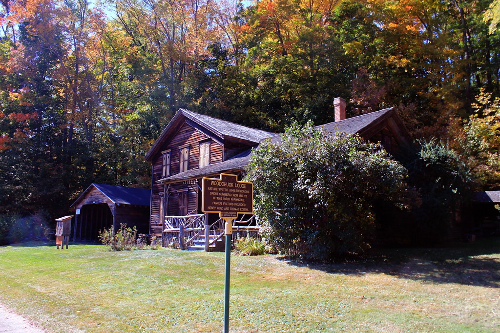 John burroughs cabin for Cabins new york state