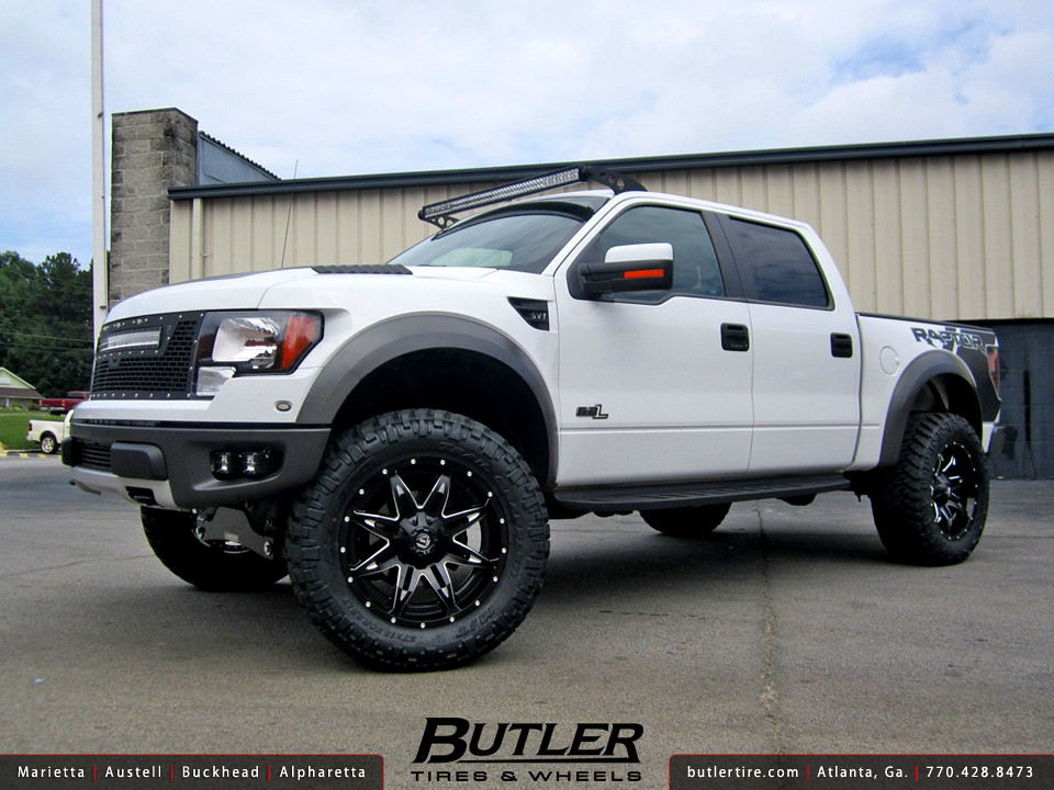 Ford Raptor With 22in Fuel Lethal Wheels Additional