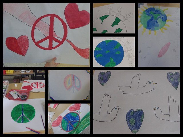 Peace Poster Collage