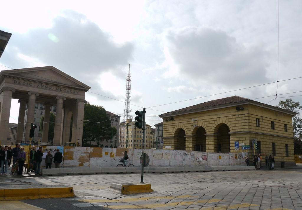 Milan Italie Porta Ticinese Porta Marengo 224 L 233 Poque Na