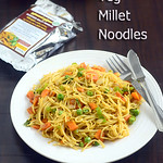 Veg Millet noodles recipe - How to make Millet noodles at home