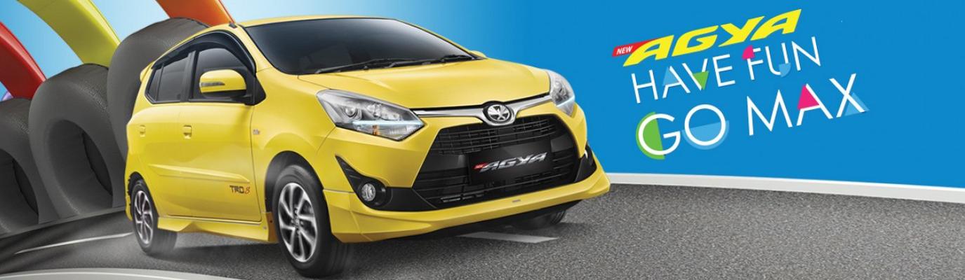Mobil Toyota New Agya 1200cc di Jakarta