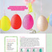 Glitter eggs Prima Magazine