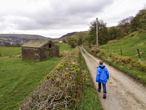 Walking along the Burnley Way