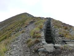 Gräben hinauf zum Col di Lana
