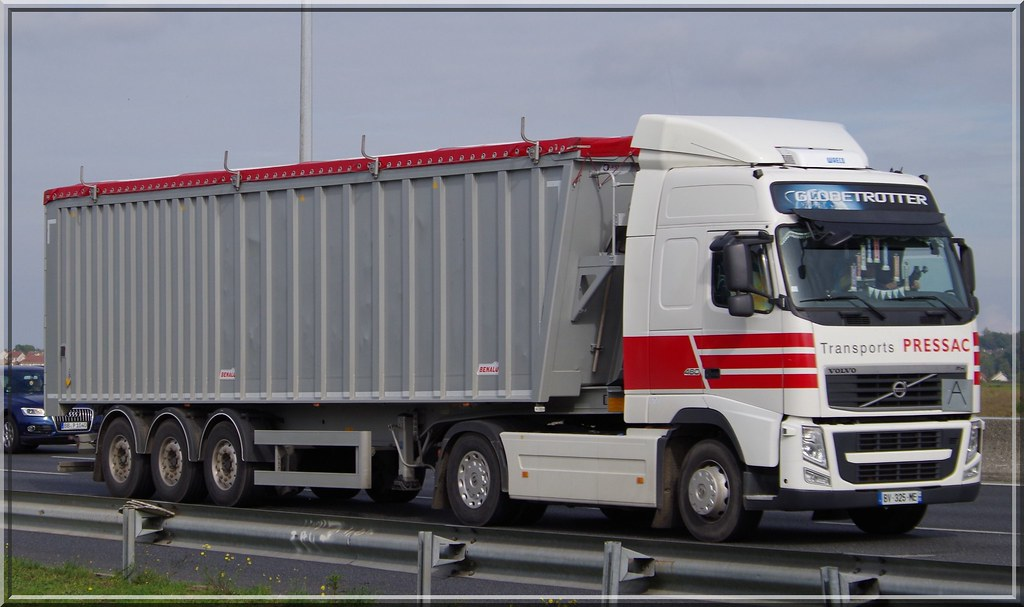 Volvo Fh460 Globetrotter Transports Pressac Vendrennes F