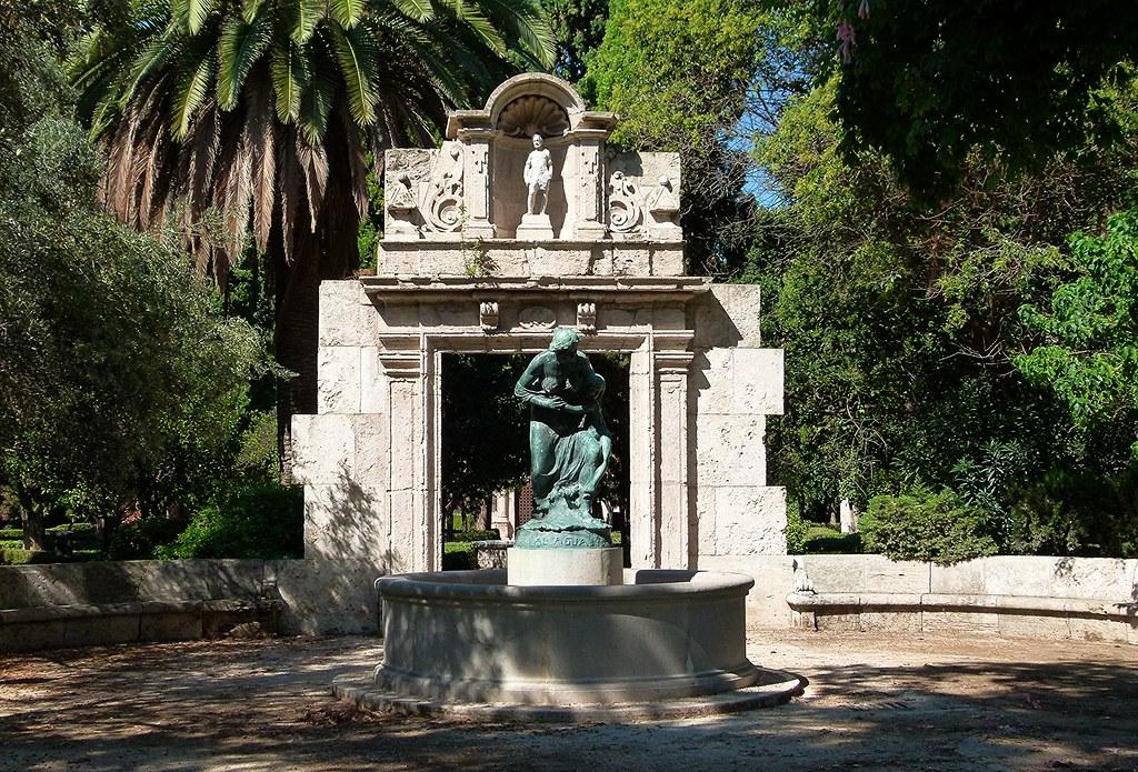 Jardines de viveros valencia jardines del real for Jardines del real valencia