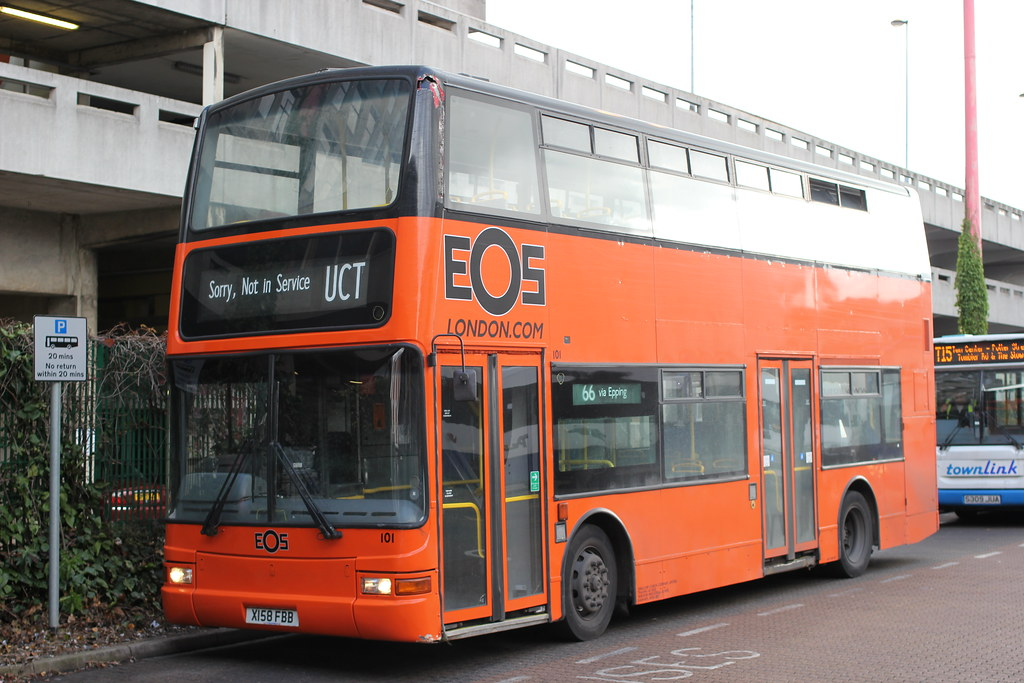 EOS London ( Swallow Coaches ) , Rainham , East London . 1…   Flickr