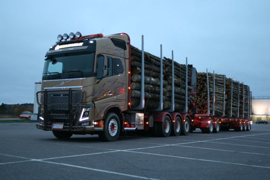 4s Volvo Fh16 700 Timber Truck Lt Ananjevas Rolandas