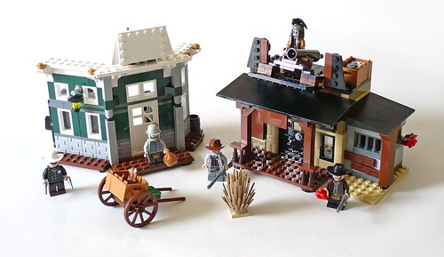LEGO The Lone Ranger 79109 Colby City Showdown 14