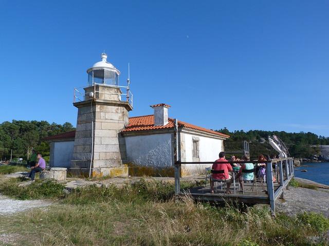 Faro de Punta Cabalo (Isla de Arousa)
