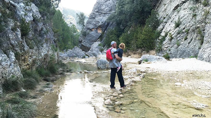 ruta divertida por el rio