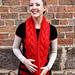 Chunky Cowl Red #3