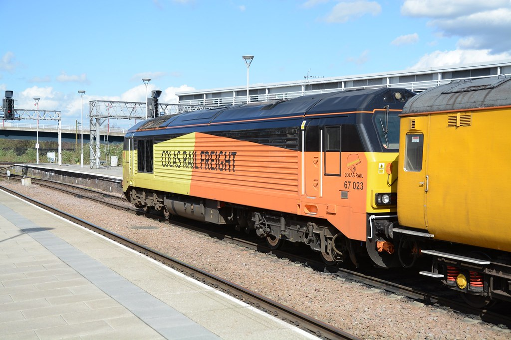Colas Rail Class 67 67023 Home Of The Former British