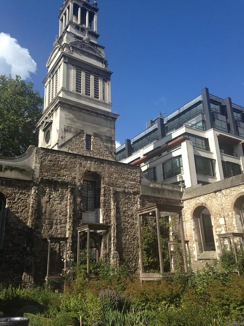 City Walks Christ Church Garden And Tower Flickr Photo Sharing
