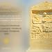 Greece, Macedonia,  Thasos island, funerary stele with greek inscription, Aegean sea